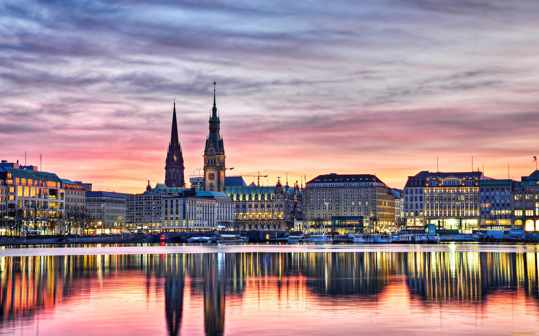 Гамбург достопримечательности фото с описанием
